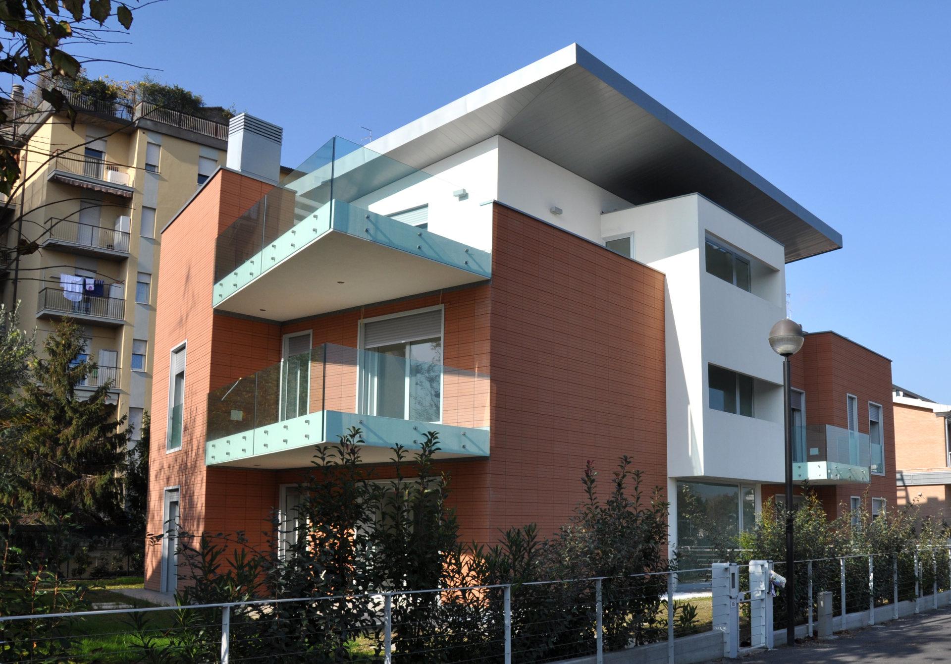 Residenze a Ravenna: edificio residenziale a basso consumo energetico